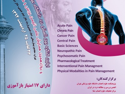 First TUMS International Congress of Pain